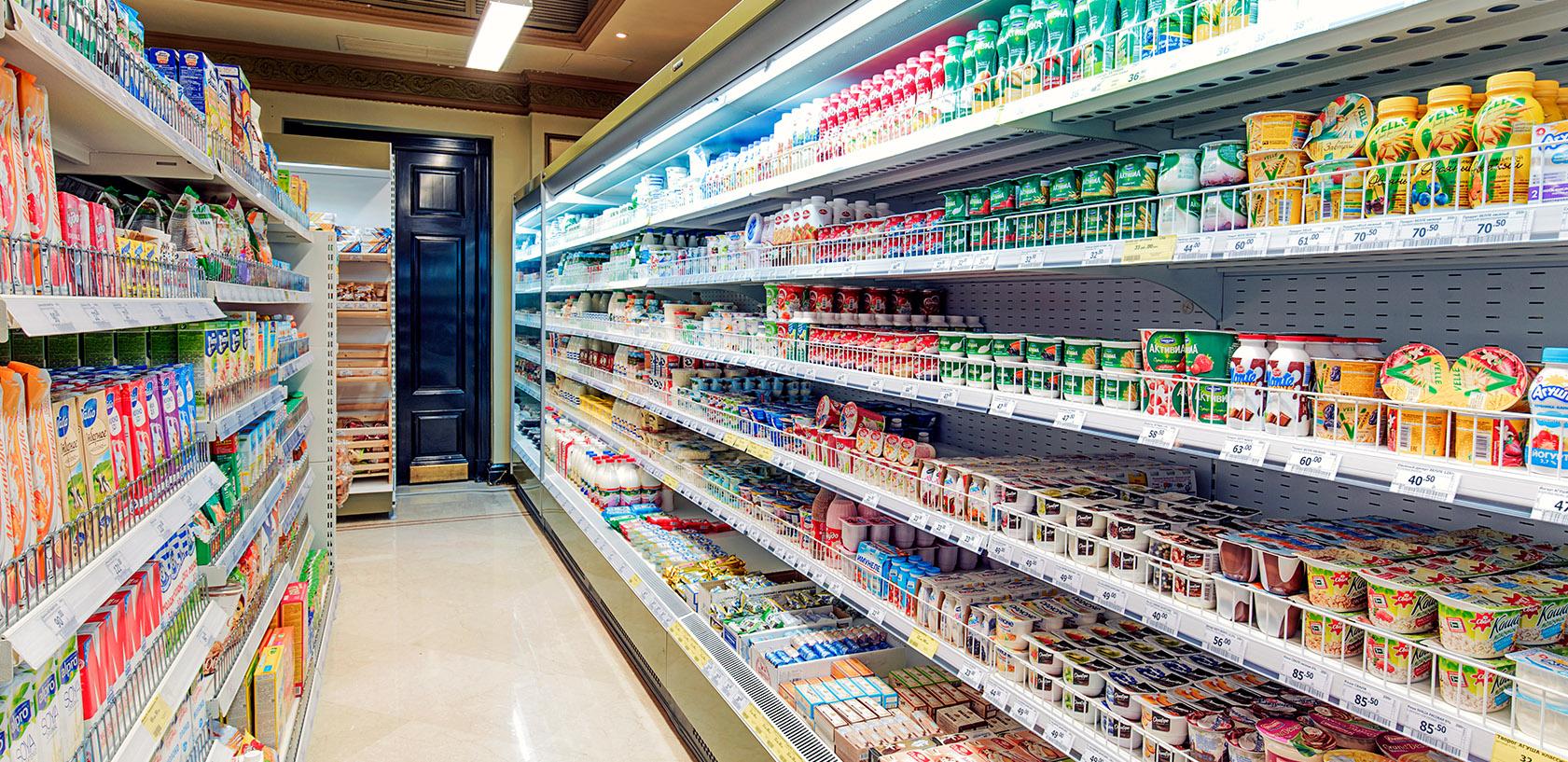 Холодильное оборудование для магазина Перекресток Экспресс