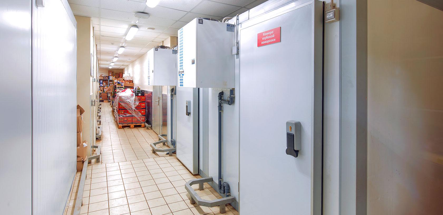 Холодильные камеры Пятерочка