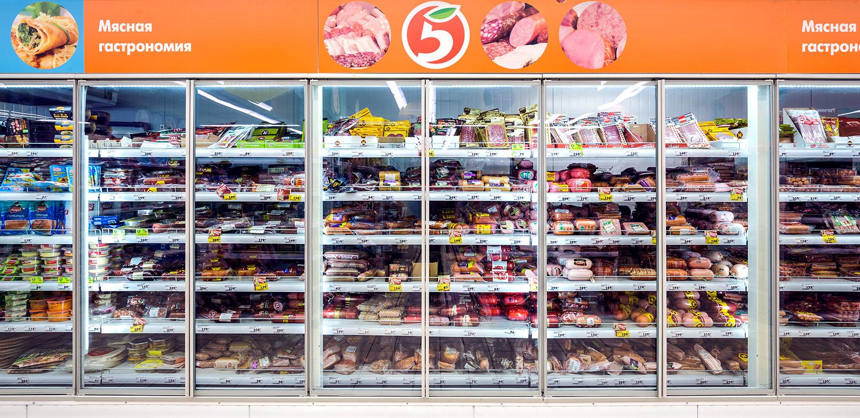 Холодильные камеры витрины