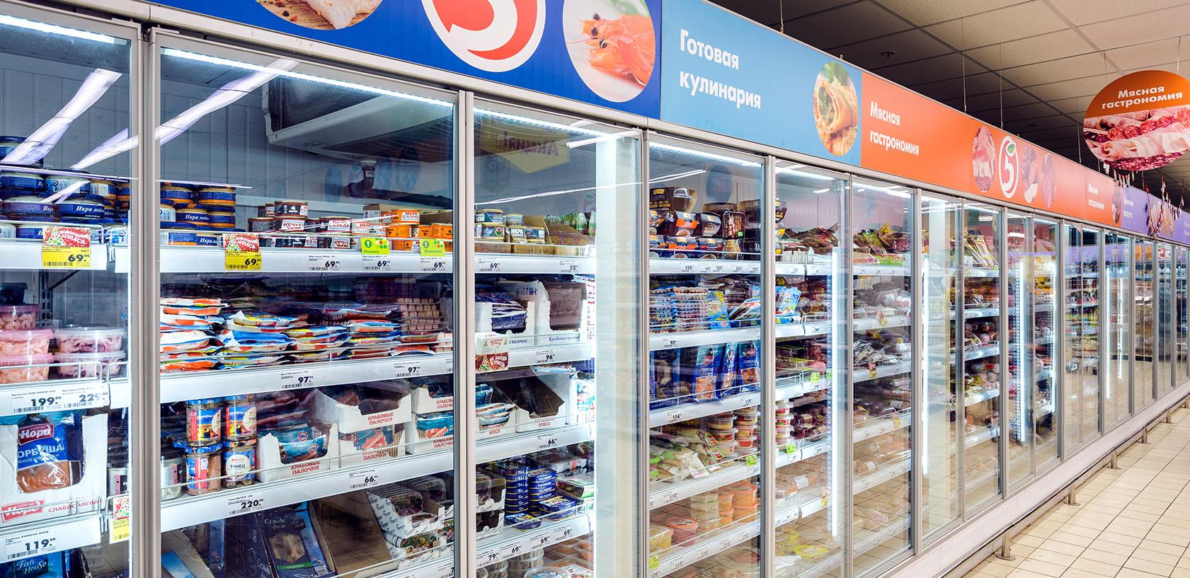 Презентационные холодильные камеры 2